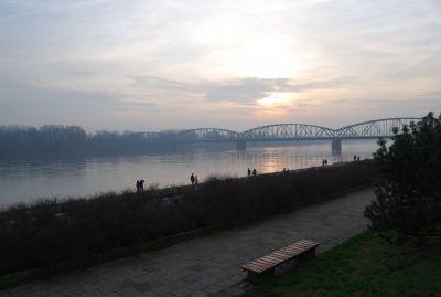 Bro över Wisła.
